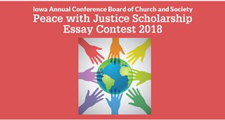 Peace with Justice Scholarship Essay Contest 2018