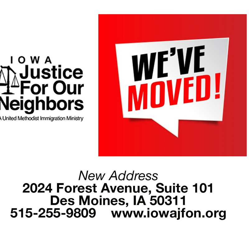 Iowa JFON moves to new offices to better serve clients