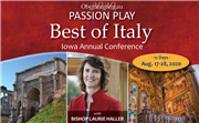 Best of Italy with the Bishop Laurie