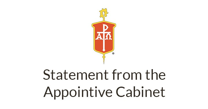 Appointive Cabinet statement regarding the Special Called General Conference