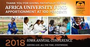 Iowa achieves 100% giving to Africa University in 2018