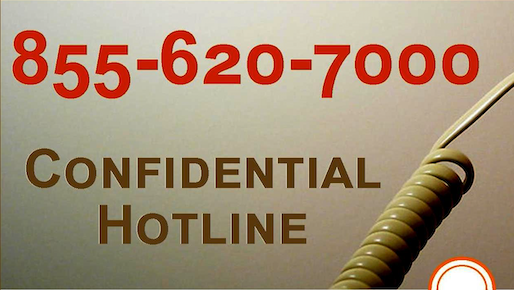 Hotline for adult survivors to report child sexual abuse