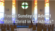 More Christ in Christmas: An Advent Message from Moody Colorado