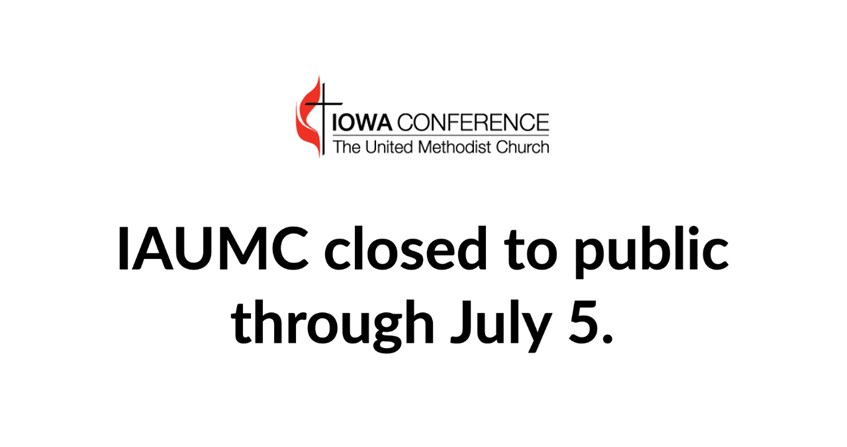 Iowa Conference Center closed until July 5