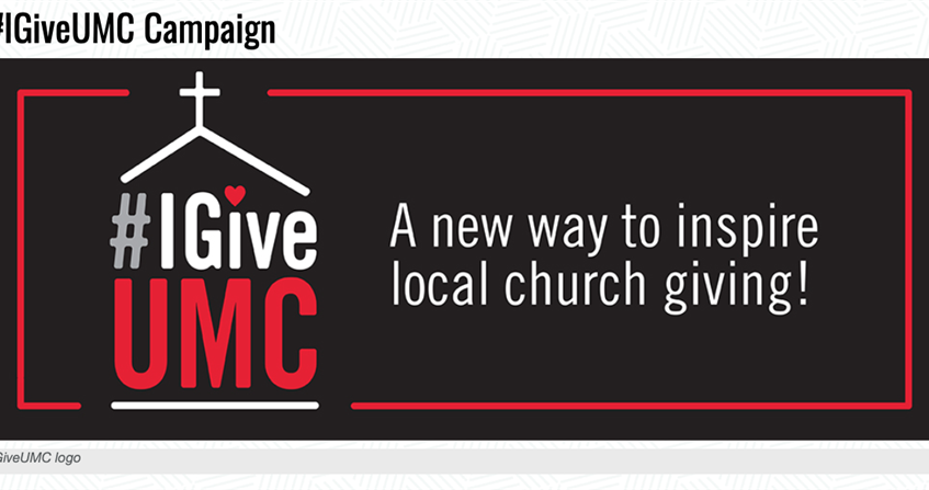 Creative way to boost local church giving and social media engagement — #IGiveUMC