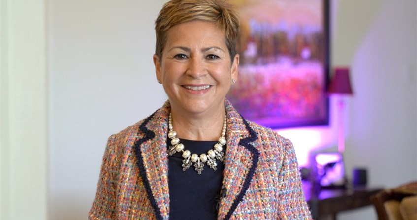 Bishop Harvey makes history as first Hispanic woman to be COB President