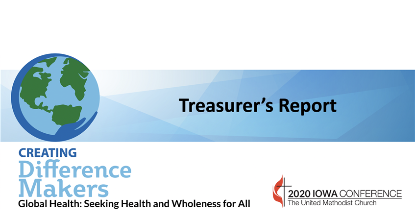 AC2020 – Treasurer's Report