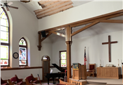 Salem United Methodist Church in Van Horne plays a pivotal role