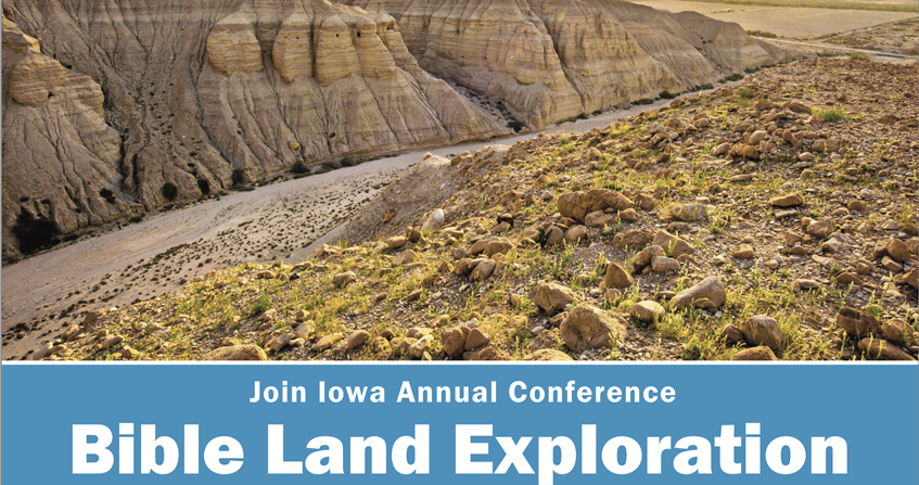 Bible Land Exploration Tour with the Bishop Laurie and Gary Haller