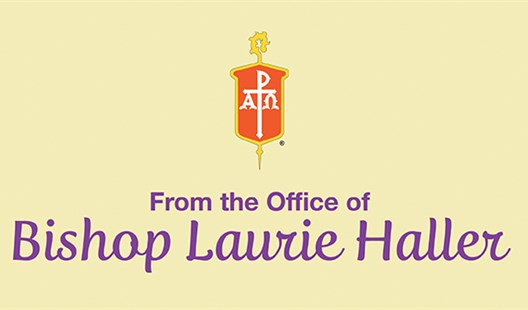 A Pastoral Letter from Bishop Laurie regarding her Worship Directive