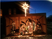 Destroyed Nativity reminds Woodbine UMC of the 'simplicity of Christmas'