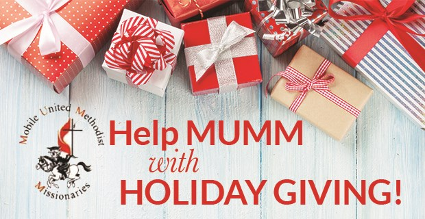 Help MUMM with Holiday Giving