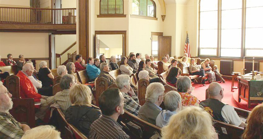 Marengo UMC celebrates 100th anniversary