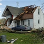 Rev. Jaye Johnson talks about Thurman tornado