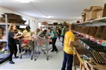 Conference Ctr Team helps at food pantry network