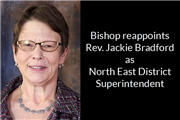Rev. Bradford reappointed NE Superintendent