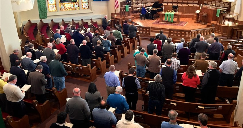 Ministry orders and fellowship gather – 'we responded to God's call'