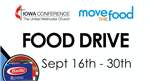 Iowa Conference Center food drive