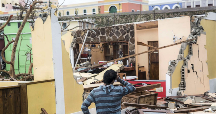 Reaching out to storm survivors in Puerto Rico