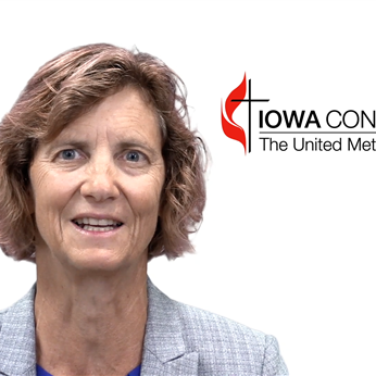 Iowa conference videos bishop laurie hallers 2017 laity sunday greeting m4hsunfo Image collections