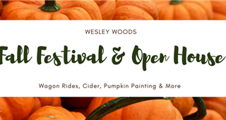 Upcoming events at Wesley Woods
