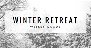 Winter Youth Retreat weekend at Wesley Woods